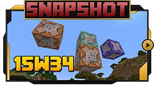 Minecraft Version 15w34a