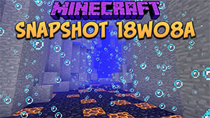 Minecraft 18w08a Download