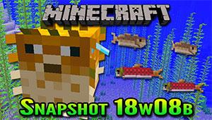 Minecraft 18w08b