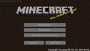 Minecraft Beta 1.6.4