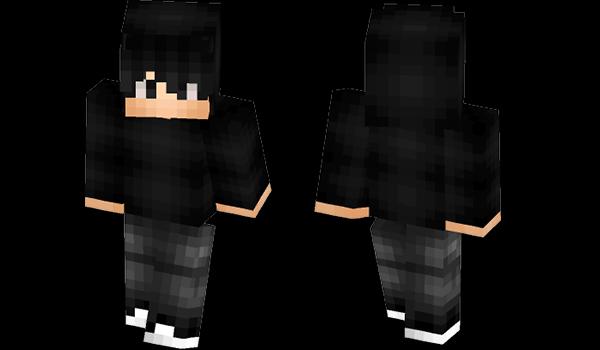 Minecraft Skins: All Black