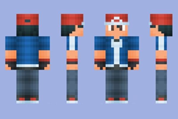 Minecraft Skins: Ash