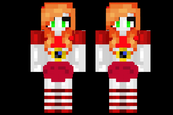 Minecraft Skins: Circus Baby