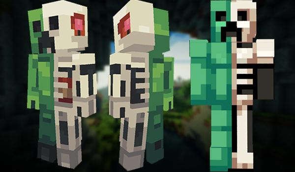 Minecraft Skins: Creeper Anatomy
