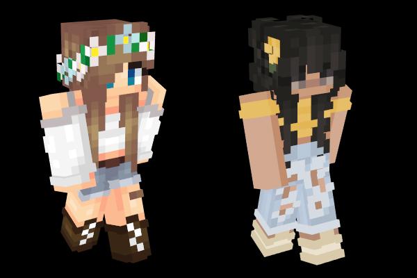 Minecraft Skins: Girl