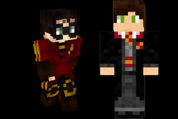 Minecraft Skins: Harrypotter