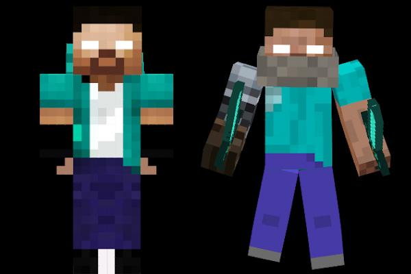 Minecraft Skins: Herobrine
