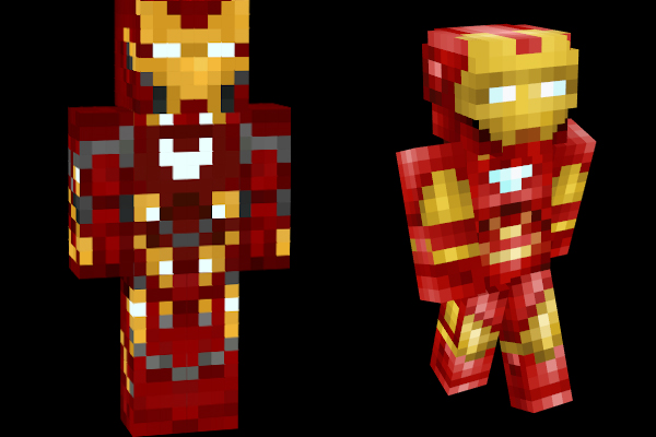 Minecraft Skins: Ironman
