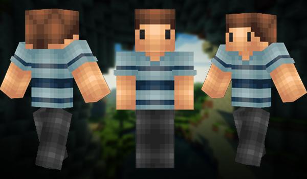 Minecraft Skins: Ordinary Guy