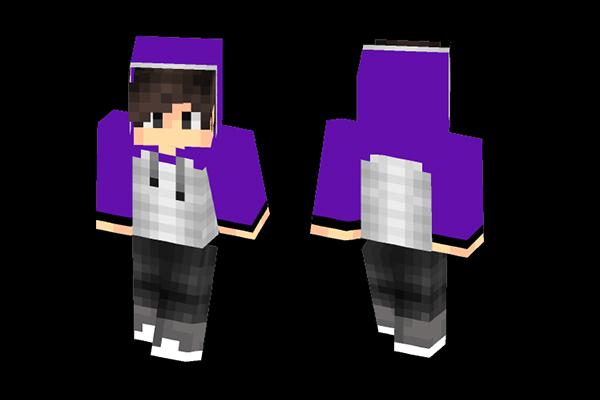 Minecraft Skins: Purple Jacket