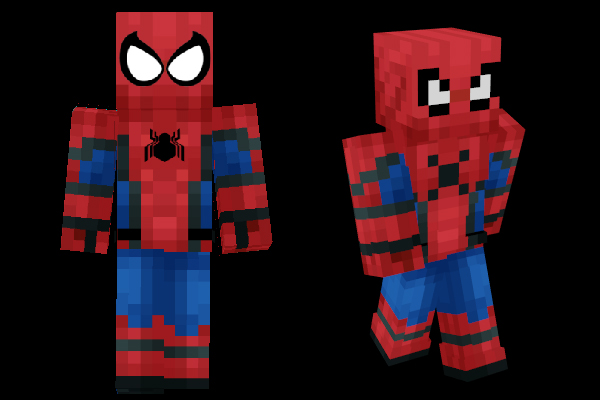 Minecraft Skins: Spiderman