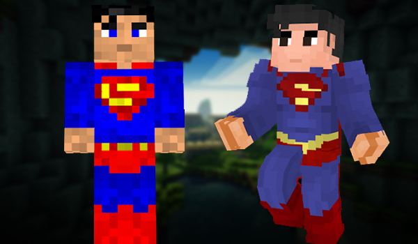 Minecraft Skins: Superman