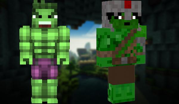 Minecraft Skins: Thehulk
