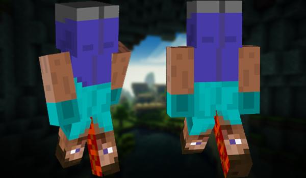Minecraft Skins: Upsidedown