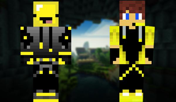 Minecraft Skins: Yellow Gamer